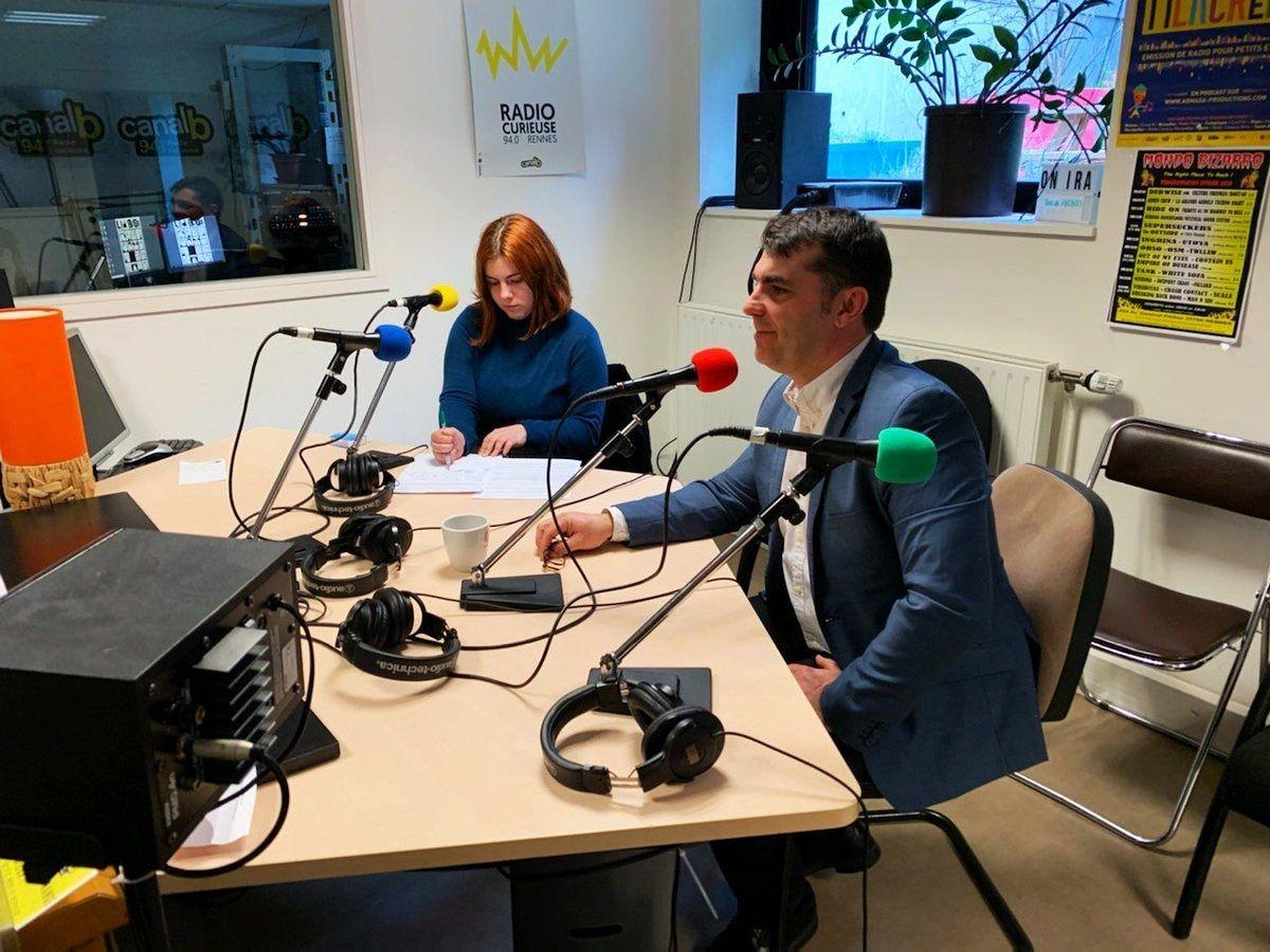 Interview du jour à Canal B